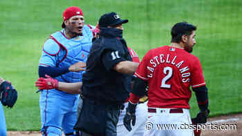 Reds' Nick Castellanos suspended two games after benches-clearing incident vs. Cardinals