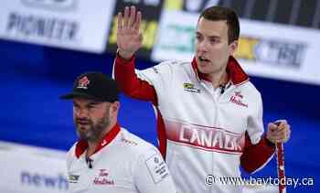 Canada's Bottcher hammers Shuster of the U.S. 10-1 in men's world curling