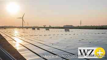 Der Solarpark bei Cremlingen wird erweitert - Wolfenbütteler Zeitung