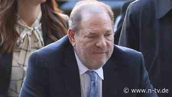 In Haft wegen Sexualverbrechen: Weinstein geht in Berufung