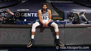 Karl-Anthony Towns says he had time to chase stats: 'That s*** is over'