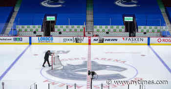 Vancouver Canucks Brought to a Standstill by the Pandemic