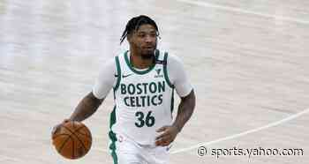 Boston's Marcus Smart calls out local podcast host for defensive criticisms