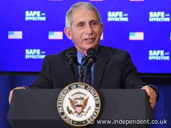 Dr Fauci says US federal government will not require Covid vaccine passports