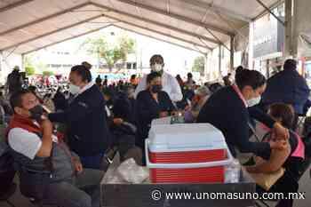 En Ixtapaluca, Edomex; Concluye con éxito, aplicación de primera dosis de vacuna Covid-19 - UnomásUno