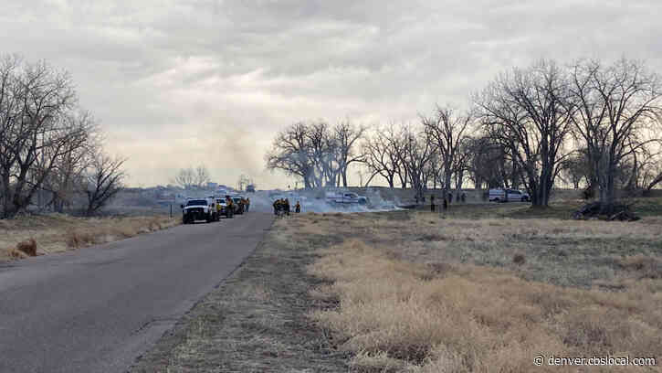 Smoke Coming From Rocky Mountain Arsenal National Wildlife Refuge Is Prescribed Burn