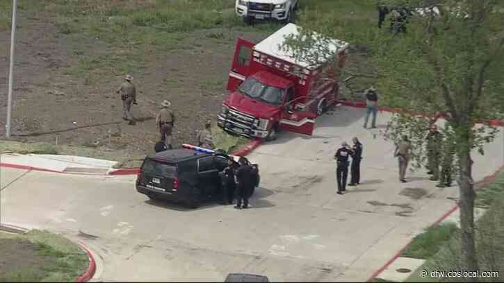 Police Chase With Stolen Dallas Ambulance Ends In McKinney, Suspect In Custody