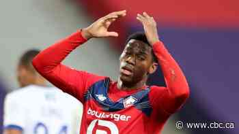 Canadian striker Jonathan David sidelined for several weeks with ankle injury