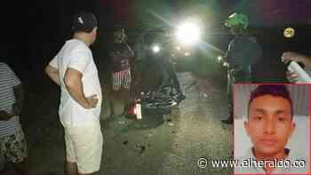 Camioneta del alcalde de Tolú atropelló a un joven - EL HERALDO