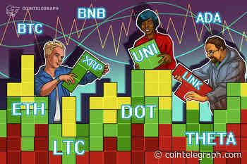 Price analysis 4/5: BTC, ETH, BNB, DOT, ADA, XRP, UNI, LTC, LINK, THETA