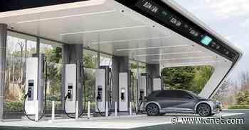 Hyundai's Formula One-inspired EV chargers look properly futuristic     - Roadshow