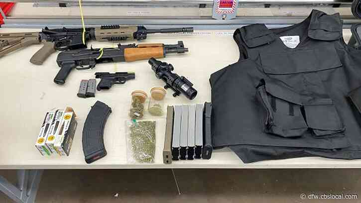 Domestic Violence Suspect Daniel Flores Arrested, Stolen Guns, Ammo, Drugs Seized
