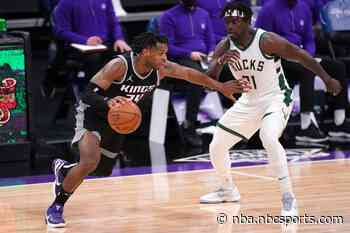 Buddy Hield fined for language toward refs after Kings' loss to Bucks (video)