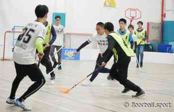 Floorball Campus League 2021 launched in Shanghai Foreign Language School - IFF Main Site - International Floorball Federation