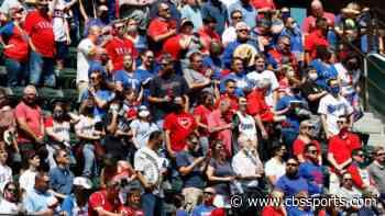 LOOK: Texas Rangers open ballpark to full-capacity crowd for home opener vs. Blue Jays