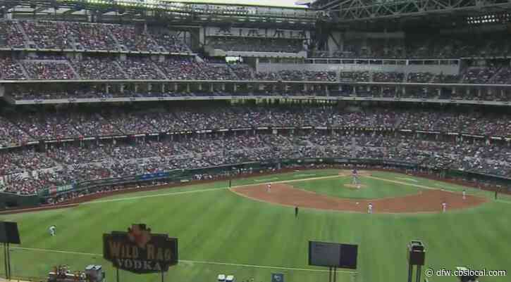 With 100% Capacity Allowed, Rangers See Packed Stands For Home Opener At Globe Life Field