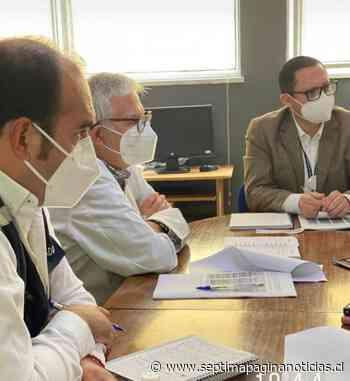 Autoridades coordinan apoyo ante colapso del hospital base de Linares debido a la crisis sanitaria del Covid-19 - Septima Pagina