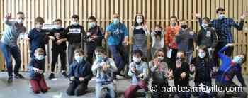 Saint-Aignan-Grandlieu. Avant de se confiner, les écoliers de Saint-Pierre ont slamé - maville.com