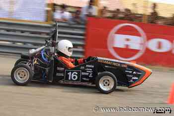 45th Rank For GTU Motorsports Globally In Formula Student Ranking Index - India Car News