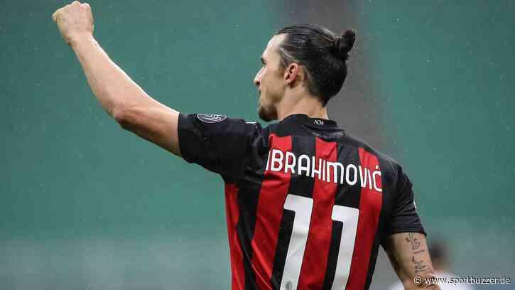 Berichte: Schweden-Superstar Zlatan Ibrahimovic vor Vertragsverlängerung bei AC Mailand - Sportbuzzer