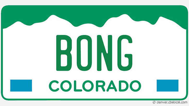Pot-Themed Colorado License Plates Expected To Fetch Rocky Mountain High Revenues At Auction