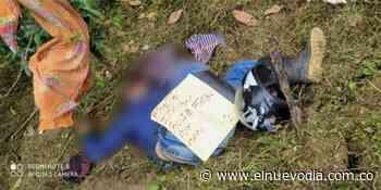 Disidencias de las Farc asesinaron a un hombre a Ataco - El Nuevo Dia (Colombia)
