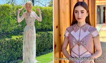 Nicole Kidman and Lily Collins lead best-dressed stars at SAG Awards 2021 - HELLO!