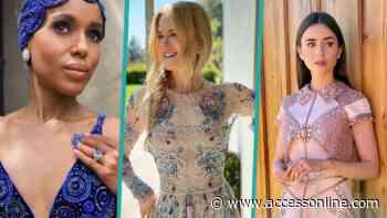 2021 SAG Awards Fashion: Kerry Washington, Lily Collins and More Stars Shimmer and Shine - Access Hollywood