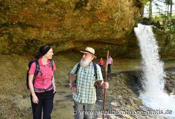 Scheidegger Wasserfälle - Partner der Gartenschau   Scheidegg, Allgäu - Urlaubskataloge-gratis