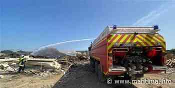 Saint-Martin-de-Crau : un incendie de palettes en cours dans une entreprise, 30 pompiers sur place - Saint Martin de Crau - Faits divers - Maritima.info