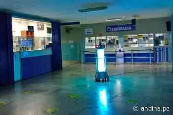 Hospital Regional de Huacho utiliza equipo de rayos UV para combatir la covid-19 - Agencia Andina