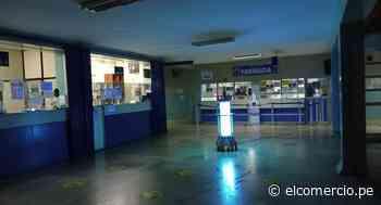 Huacho: desinfectan ambientes del hospital regional con luz ultravioleta - El Comercio Perú