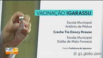 Igarassu amplia vacinação contra a Covid-19 para idosos a partir de 60 anos - G1
