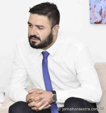 Thiago Moura é o novo Secretário de Saúde de Anicuns - Jornal Hora Extra