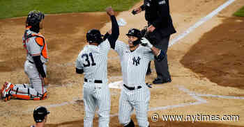 Giancarlo Stanton's Grand Slam Highlights Blowout of Baltimore