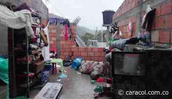 Fuerte vendaval dejó varias familias afectadas en Coromoro - Caracol Radio