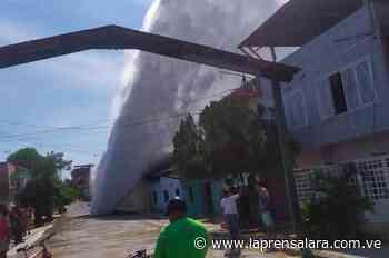 Rotura de tubería matriz causa emergencia en Santa Teresa del Tuy - La Prensa de Lara