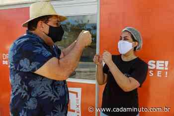 Em Rio Largo, Drive-Thru de vacinação segue imunizando idosos no feriado da Semana Santa - Cada Minuto
