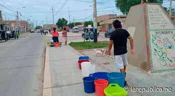 Lambayeque: vecinos de Monsefú piden restablecer servicio de agua - LaRepública.pe