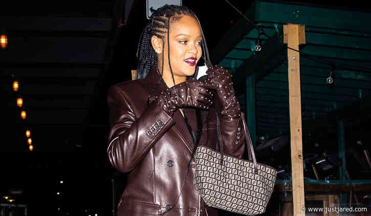 Rihanna Looks So Chic While Celebrating Her Mom's Birthday in New York City