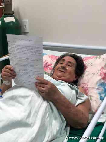 """""""Correio do amor"""": pacientes com Covid-19 recebem cartas de familiares - O POVO"""
