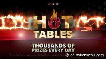 Alles über die neuen partypoker Hot Tables