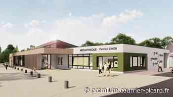 La future médiathèque de Villers-Bretonneux, un projet à plus de 1,5 million d'euros - Courrier picard