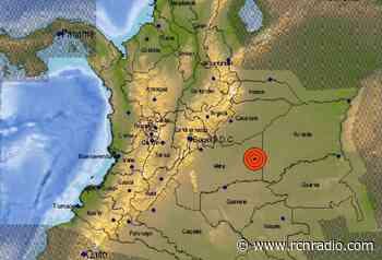 Tembló en Colombia: el epicentro fue Puerto Gaitán, Meta - RCN Radio