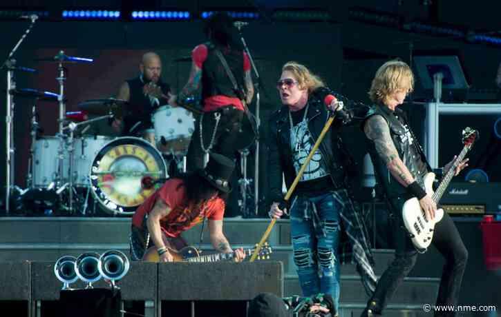 Guns N' Roses reschedule their UK and European tour to 2022