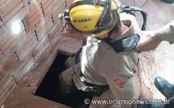 Jatai- Pai pula em cisterna para salvar a filha e precisa ser resgatado pelos bombeiros - O Correio News