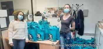Mont-Saint-Aignan. APF France handicap distribue des sacs bien-être grâce à ses partenaires - Le Courrier Cauchois