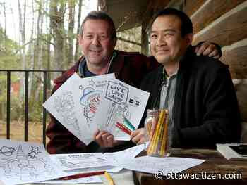 The China Doll colouring book: It's OK to go outside the lines