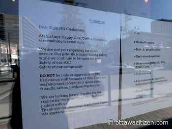 Briones: Frustrated by Ontario's lockdown? Don't take it out on the service or retail sector