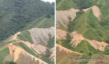 Denuncian afectación ambiental por apertura de una vía en Timaná - Huila